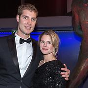 NLD/Amsterdam/20181219 - NOC*NSF Sportgala 2018, Maarten van der Weijden en partner