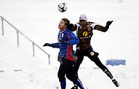 Fotball<br /> Adeccoligaen<br /> Treningskamp<br /> Rolvsrud Stadion<br /> 16.01.10<br /> Lørenskog - Mjøndalen<br />  Mamadou Diarra<br /> Foto: Eirik Førde