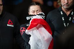March 16, 2019 - London, United Kingdom - Molly McCann beats Priscila Cachoeira by decision during UFC Fight Night 147 at the London O2 Arena, Greenwich on Saturday 16th March 2019. (Credit Image: © Mi News/NurPhoto via ZUMA Press)