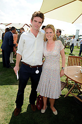 JAMES MEADE and LAURA MARSHAM at the Cartier International Polo at Guards Polo Club, Windsor Great Park on 27th July 2008.<br /> <br /> NON EXCLUSIVE - WORLD RIGHTS