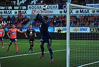 Fotball , 10. mai 2014 , Tippeligaen , Eliteserien , Aalesund - Brann<br /> Piotr Leciejewski, Jonatan Tollås Nation - Aalesund,<br /> Foto: Kenneth Hjelle , Digitalsport