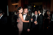 STELLA SCHNABEL; MAXWELL SNOW, The Global launch of the 2012 Pirelli Calendar by Mario Sorrenti.  Dinner at the Park Avenue Armory. Manhattan. 6 December 2011.