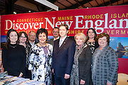 27/1/16 US Chargé d'affaires Reece Smyth at the Discover New England stand at the Holiday World Show 2017 at the RDS Simmonscourt in Dublin. Picture: Arthur Carron