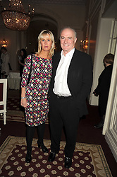 RICK STEIN and SARAH BURNS at the 2009 Tatler Restaurant Awards in association with Champagne Louis Roederer held at the Mandarin Oriental Hyde Park, 66 Knightsbridge, London SW1 on 19th January 2009.