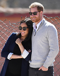 Prince Harry, Duke of Sussex, and Meghan Markle, Duchess of Sussex, visit Lycée Qualifiant Grand Atlas and meet students and teachers in Asni Town, Atlas Mountains, Morocco, on the 24th February 2019. 24 Feb 2019 Pictured: Prince Harry, Duke of Sussex, and Meghan Markle, Duchess of Sussex, visit Lycée Qualifiant Grand Atlas and meet students and teachers in Asni Town, Atlas Mountains, Morocco, on the 24th February 2019. Photo credit: James Whatling / MEGA TheMegaAgency.com +1 888 505 6342