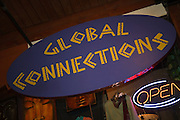 Global Connections Sign