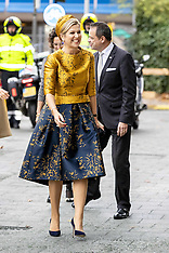 Queen Maxima At Charity Lotteries New Building - 06 Dec 2018