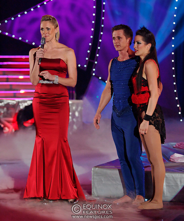 London, United Kingdom - 9 December 2007.The final of Sky One TV show Cirque de Celebrite Series 2..The show's winner was ex Neigbours actor Kyal Marsh. Featured on the show were american sprinter Dwain Chambers, ex Eastenders actress Hannah Waterman, Polish princess Princess Tamara, Australian glamour model Emily Scott, former member of boyband Five Ritchie Neville, member of Boyzone Shane Lynch, Professional football player Dean Holdsworth, Big Brother contestant Liam McGough, Socialite Lady Isabella Hervey, Bad Girls cast member Antonia Okonma, Casualty actor Luke Bailey, actress Stacey Cadman and former Neighbours actor Kyal Marsh..The location for the show was Woolwich Common, Academy Road, Woolwich, UK..(photo by: EDWARD HIRST/EQUINOXFEATURES.COM)..Picture Data:.Photographer: EDWARD HIRST.Copyright: ©2007 Licensed to Equinox News Pictures +448700 780000.Contact: Equinox Features.Date Taken: 20071209.Time Taken: 195108+0000.www.newspics.com