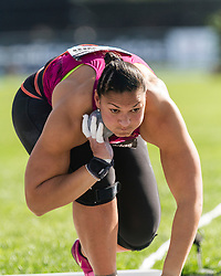 Valerie Adams, New Zealand, wins 50th competition in a row, women's shot put, adidas Grand Prix Diamond League track and field meet