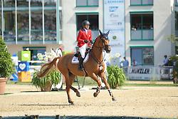 Coe Kirsten, (USA), Baronez<br /> CSIO Nations Cup - Mannheim 2015<br /> © Hippo Foto - Stefan Lafrentz