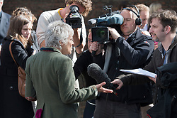 © London News Pictures. 26/04/2012. London, UK. Actress Julie Walters speaking at the launch of the  London 2012 Festival at the Tower of London on April 26, 2012. London 2012 Festival  is a festival celebrating the 2012 Olympic Games in London. Photo credit : Ben Cawthra/LNP