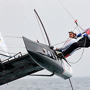 Banque image du Flying Phantom de Jonas Gerckens et Fred Duthil à Carnac Plage