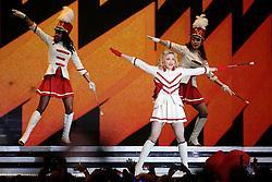 """Madonna durante o show da turnê """"MDNA"""" no estádio Olímpico, em Porto Alegre. FOTO: Jefferson Bernardes/Preview.com"""