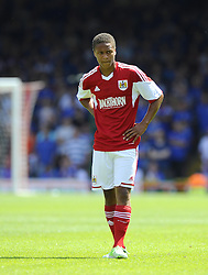 Bristol City's Bobby Reid - Photo mandatory by-line: Joe Meredith/JMP - Tel: Mobile: 07966 386802 13/07/2013 - SPORT - FOOTBALL - Bristol -  Bristol City v Glasgow Rangers - Pre Season Friendly - Bristol - Ashton Gate Stadium