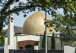 March 16, 2019 - Christchurch, Canterbury, New Zealand - The Al Noor mosque, where 41 people were killed by a gunman. Police cordoned off a wide swath of the area as they continued their investigation. (Credit Image: © PJ Heller/ZUMA Wire)