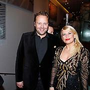 NLD/Amsterdam/20111121 - Premiere toneelvoorstelling Zangeres zonder Naam, Richard Groenendijk en Annemarie Jung