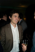 CASEY AFFLECK .  ESQUIRE Editor Jeremy Langmead hosts a Salon/ dinner in honour of Casey Affleck. SUKA at Sanderson Hotel, 15 Berners Street, London. 28 May 2008 *** Local Caption *** -DO NOT ARCHIVE-© Copyright Photograph by Dafydd Jones. 248 Clapham Rd. London SW9 0PZ. Tel 0207 820 0771. www.dafjones.com.