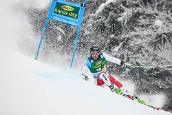 Justin Murisier of Switzerland competes during 1st run of Men's GiantSlalom race of FIS Alpine Ski World Cup 57th Vitranc Cup 2018, on March 3, 2018 in Kranjska Gora, Slovenia. Photo by Ziga Zupan / Sportida