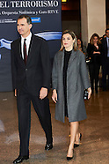 031016 Spanish Royals Attend Tribute Concert For Terrorism Victims in Madrid
