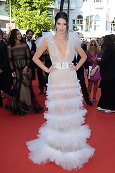 Kendall Jenner attending the Les Filles du Soleil (Girls of the Sun) Premiere held at the Palais des Festivals as part of the 71th annual Cannes Film Festival on May 12, 2018 in Cannes, France. Photo by Aurore Marechal/ABACAPRESS.COM