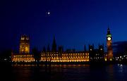 Parliament at Night - Big Ben
