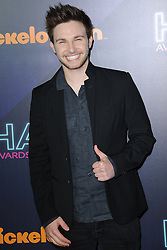November 11, 2016 - New York, NY, USA - November 11, 2016  New York City..AJ Lehrman attending the 2016 Nickelodeon HALO awards at Basketball City Pier 36  South Street on November 11, 2016 in New York City. (Credit Image: © Callahan/Ace Pictures via ZUMA Press)