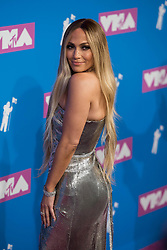 August 21, 2018 - New York City, New York, USA - 8/20/18.Jennifer Lopez at the 2018 MTV Video Music Awards at Radio City Music Hall in New York City. (Credit Image: © Starmax/Newscom via ZUMA Press)