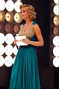 De grote finale van Holland's Next Top Model seizoen 4 tijdens een grote liveshow in de Lichtfabriek in Haarlem <br /> <br /> Op de foto Presentatrice Daphne Deckers