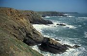 Coastal Erosion, Pembrokeshire, Wales, UK