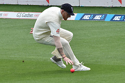 March 23, 2018 - Auckland, Auckland, New Zealand - Ben Stokes of England fields during Day Two of the First Test match between New Zealand and England at Eden Park in Auckland on Mar 23, 2018. (Credit Image: © Shirley/Pacific Press via ZUMA Wire)