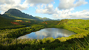Menehune Fish Pond, Kauai, Hawaii