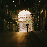 The main passage in the Al-Hamidiyah Souq, early in the morning in Damascus, Syria