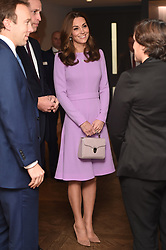 October 9, 2018 - London, London, United Kingdom - Prince William and Kate Middleton, the Duke and Duchess of Cambridge, at the Global Ministerial Mental Health Summit in London. (Credit Image: © Pool/i-Images via ZUMA Press)