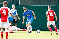 Jordan Keane. Stockport County 0-2 Fleetwood Town. Pre-Season Friendly. 15.8.20
