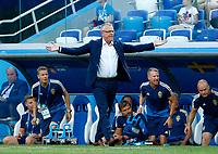 Sweden coach Janne Andersson<br /> Nizhny Novgorod 16-06-2018 Football FIFA World Cup Russia  2018 <br /> Sweden - South Korea / Svezia - Corea del Sud <br /> Foto Matteo Ciambelli/Insidefoto