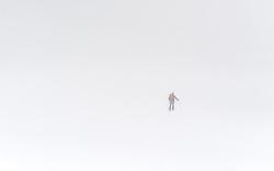 THEMENBILD - Skitour. Das Bild wurde am 31. Maerz 2013 aufgenommen. im Bild Tourengeher im Whiteout // THEME IMAGE FEATURE - Winter in Vienna. The image was taken on march, 31st, 2013. Picture shows ski touring during whiteout, AUT, EXPA Pictures © 2013, PhotoCredit: EXPA/ Michael Gruber