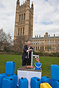 Peter Bottomley MP. Marking World Water Day, over 40 MP's walked for water at Westminster, London at an event organised by WaterAid and Tearfund. Globally hundreds of thousands of people took part in the campaign to raise awareness of the world water crisis.