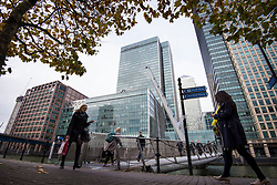 General view of J.P. Morgan's UK headquarters, in Canary Wharf, London. The bank is one of several rumoured to be planning a move to Frankfurt after the UK's decision to leave the European Union. Picture date: Wednesday November 23rd,  2016. Photo credit should read: Matt Crossick/EMPICS Entertainment