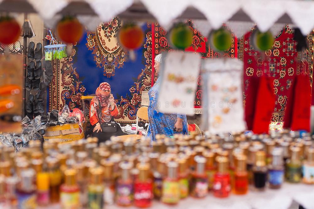 At the bazar, Turpan, Xinjiang, China