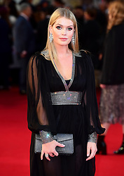 Lady Kitty Spencer attending the UK Premiere of A Star is Born held at the Vue West End, Leicester Square, London.