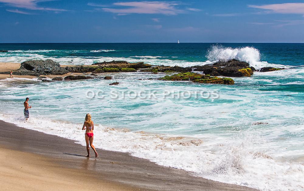 Table Rock Beach in Laguna Beach California