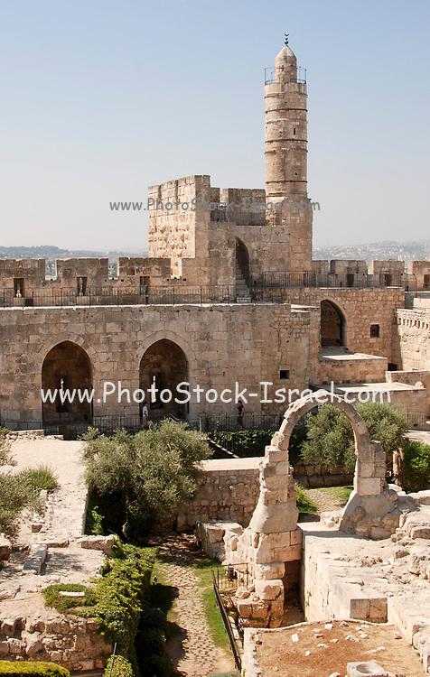 Israel, Jerusalem, Old City, Tower of David museum