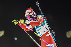February 12, 2018 - Pyeongchang, Gangwon, South Korea - Rosanna Crawford of Canada  competing at Women's 10km Pursuit, Biathlon, at olympics at Alpensia biathlon stadium, Pyeongchang, South Korea. on February 12, 2018. (Credit Image: © Ulrik Pedersen/NurPhoto via ZUMA Press)