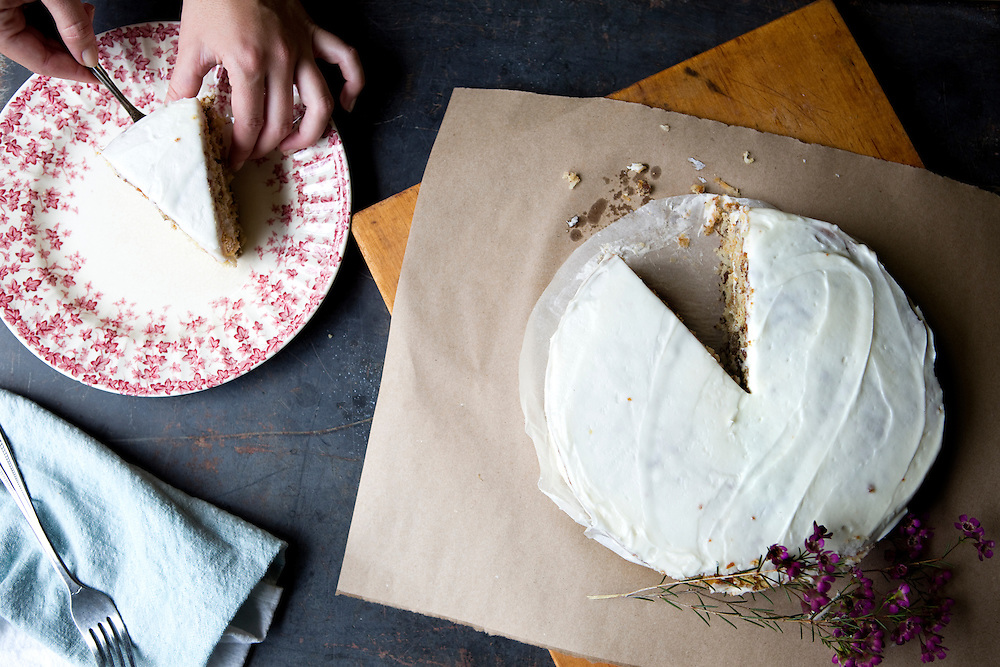 Italian cream cake at Le' Estelle / Tribeza Magazine