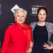 NLD/Amsterdam/20170119 - Premiere Brussel, Anne Will Blankers en Wilma Mees