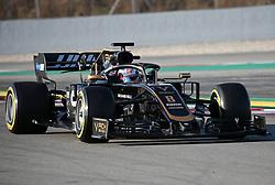 February 18, 2019 - Barcelona, Catalonia, Spain - the Haas of Romain Grosjean during the Formula 1 test in Barcelona, on 18th February 2019, in Barcelona, Spain. (Credit Image: © Joan Valls/NurPhoto via ZUMA Press)