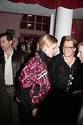 Emilia Fox and Kate Halfpenny,  Whitechapel and Hogan present Art Pls Drama Party 2007. Whitechapel Gallery. London. 8 March 2007. -DO NOT ARCHIVE-© Copyright Photograph by Dafydd Jones. 248 Clapham Rd. London SW9 0PZ. Tel 0207 820 0771. www.dafjones.com.