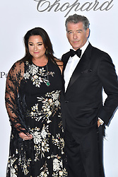 Pierce Brosnan, Keely Brosnan attend the 2018 amfAR Gala on May 17, 2018 in Cap D'Antibes, France. Photo by Lionel Hahn/ABACAPRESS.COM