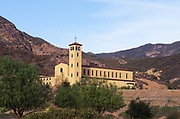 The New Rebuilt Abbey at Silverado Canyon