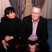 Uitreiking Omroepman van het jaar, Henk van Dorp en vrouw